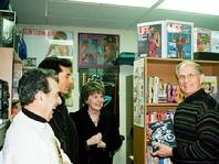 2008 Hall of Fame Inductee, Charlie Kuntzleman, EdD should off one of his more than 80 published books in The National Fitness Museum